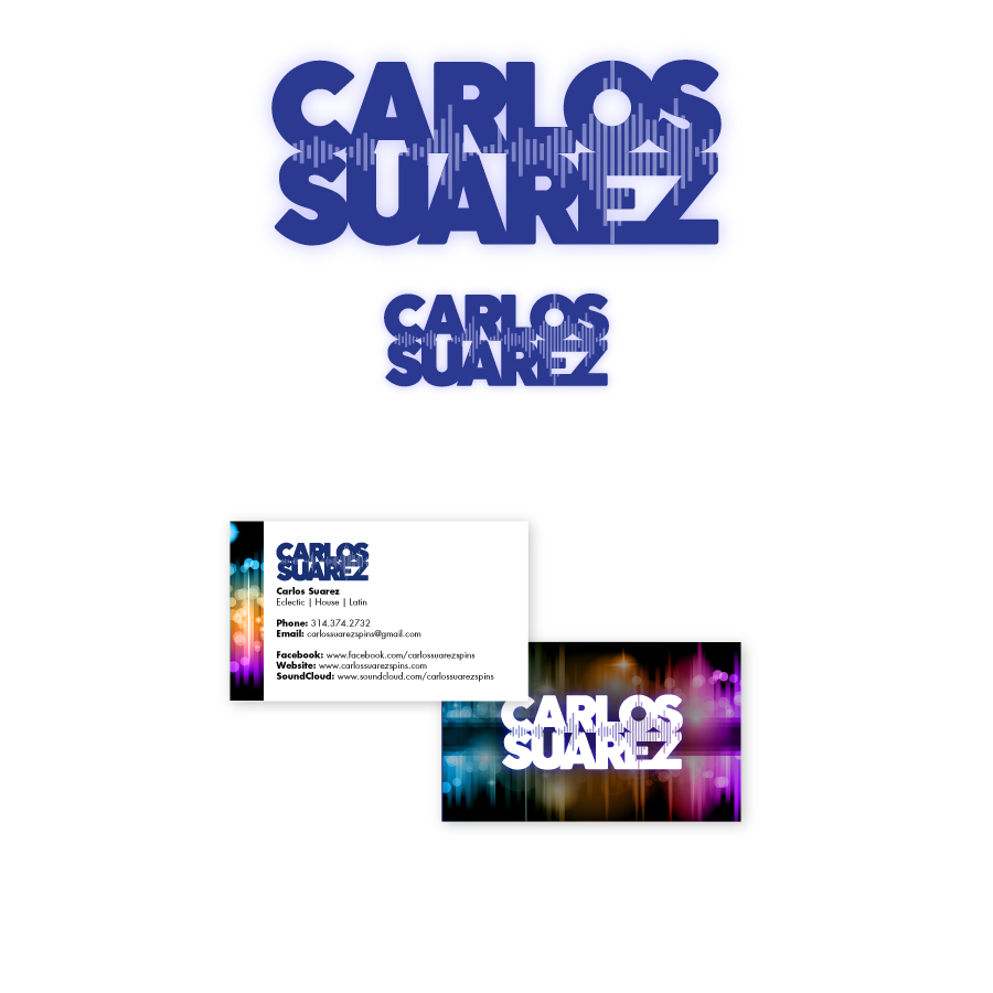 // Carlos Suarez Corporate Identity