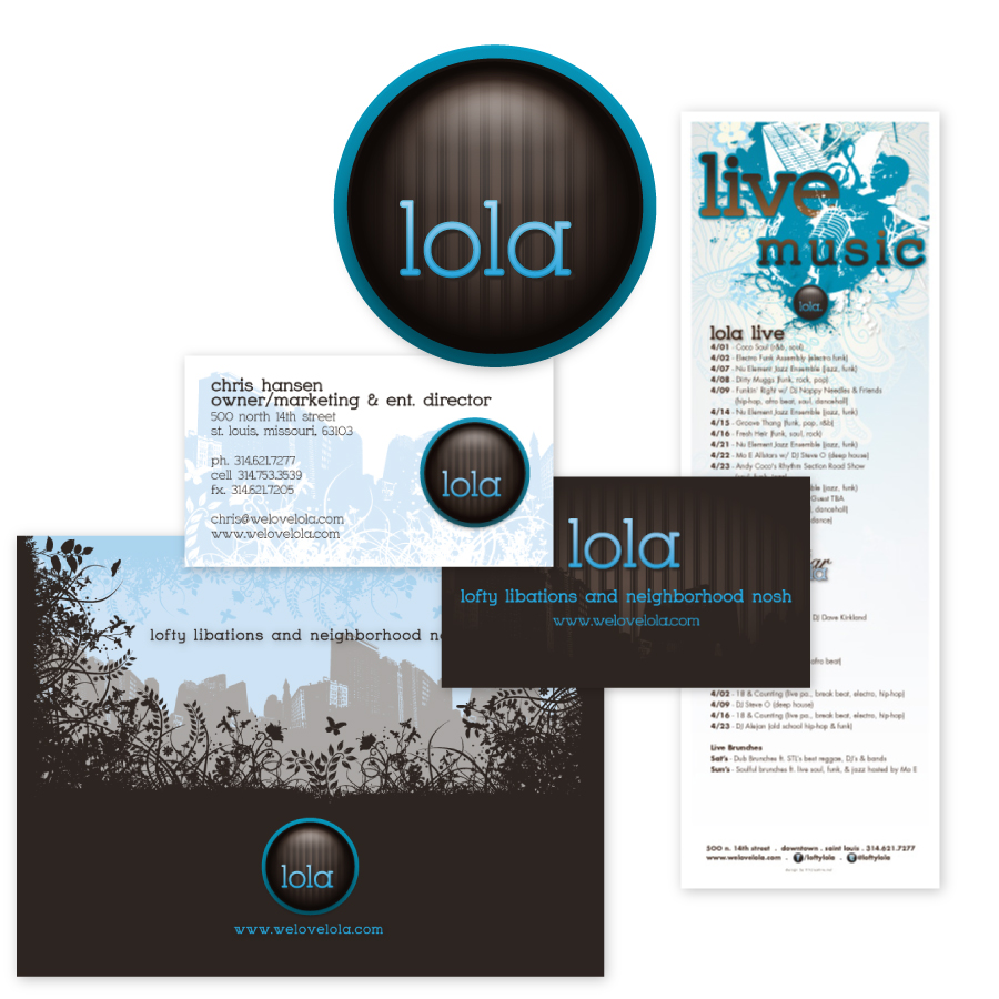 // Lola  Corporate Identity & Business Card